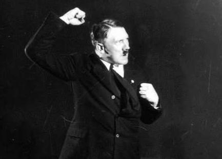 ヒトラー演説練習5